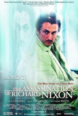 The Assassination of Richard Nixon - Theatrical release poster