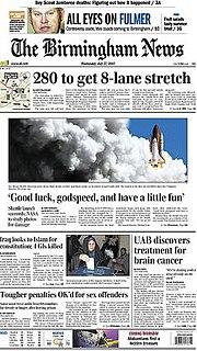 daily newspaper in Birmingham, Alabama