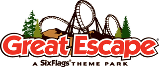 The Great Escape and Hurricane Harbor Amusement and water park owned by Six Flags