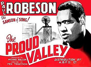 The Proud Valley - Original UK quad format film poster