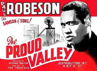 <i>The Proud Valley</i> 1940 film by Pen Tennyson