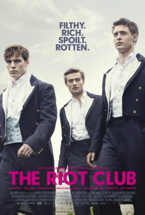 The Riot Club - UK theatrical poster