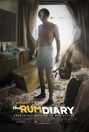 The Rum Diary (film) - Theatrical release poster