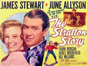 The Stratton Story - 1949 theatrical poster