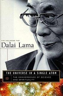 <i>The Universe in a Single Atom</i> 2005 book by Tenzin Gyatso