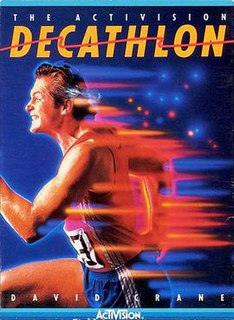 <i>The Activision Decathlon</i> 1983 sports video game