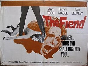 The Fiend (film) - Film poster