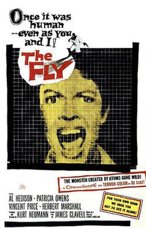 The Fly (1958 film) - theatrical release poster