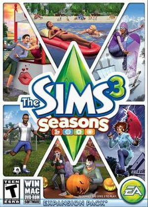 The Sims 3: Seasons - Image: Thesims 3seasons