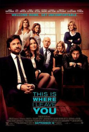 This Is Where I Leave You - Theatrical release poster