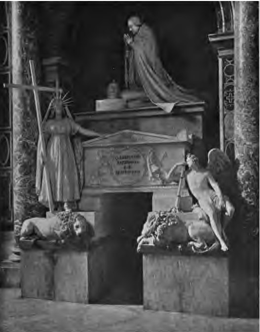 Tomb of Pope Clement XIII Gregorovius