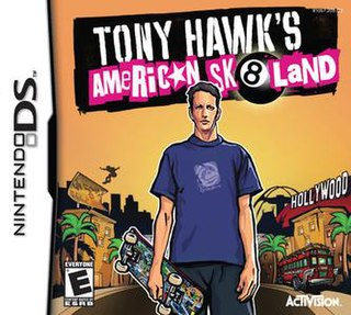 <i>Tony Hawks American Sk8land</i> 2005 video game