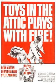 <i>Toys in the Attic</i> (1963 film) 1963 film by George Roy Hill