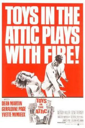 Toys in the Attic (1963 film) - Promotional movie poster