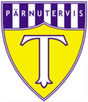 JK Tervis Pärnu - The old yellow logo