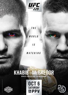 UFC 229 UFC mixed martial arts event in 2018