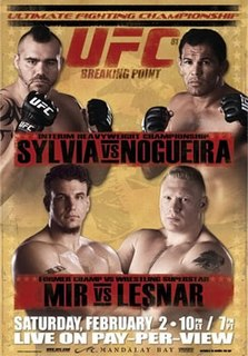 UFC 81 UFC mixed martial arts event in 2008