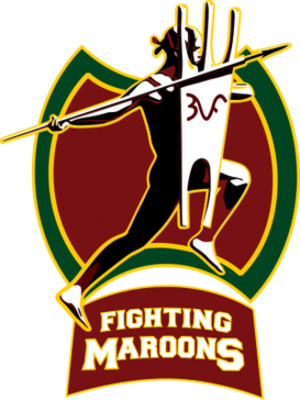 UP Fighting Maroons - The logo, unofficially released on June 15, 2015.