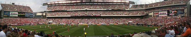 Panorama Of The U S National Soccer Team Playing Turkey On May 29 2010 As Part World Cup Send Off Series