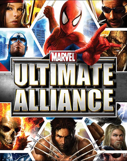 <i>Marvel: Ultimate Alliance</i> video game