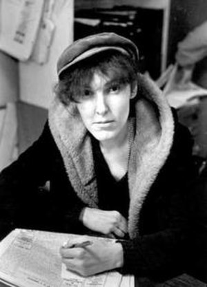 Valerie Solanas - Solanas at the Village Voice offices in February 1967