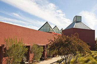 Santa Fe University of Art and Design - Visual Arts Center designed by Ricardo Legorreta