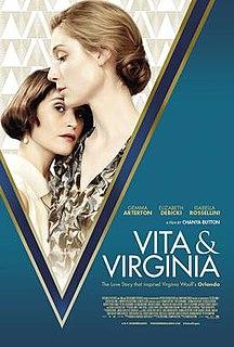 <i>Vita & Virginia</i> 2018 film by Chanya Button