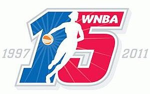 2011 WNBA season - Image: WNBA 15 year logo