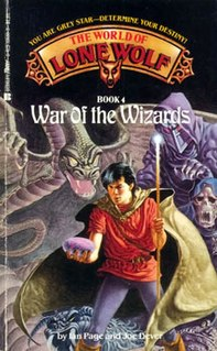 <i>War of the Wizards</i> (gamebook) book by Ian Page