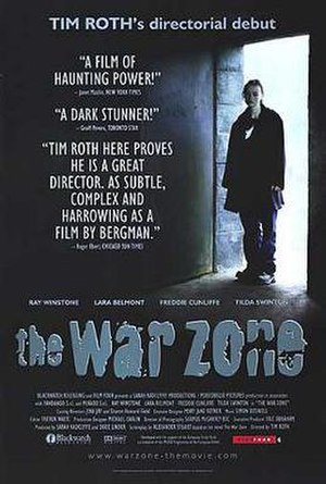 The War Zone - Theatrical release poster