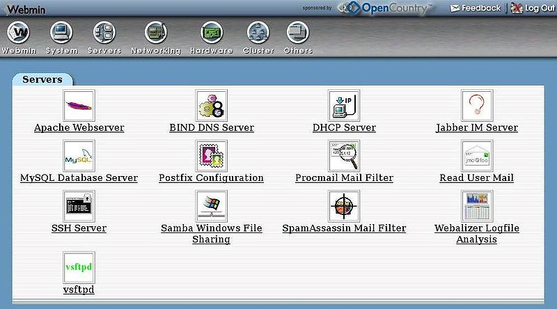 Tony S Online Home Linux Xen Webmin A Cheaper Way To
