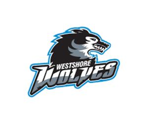 Westshore Wolves - Image: Westshore Wolves Official Logo