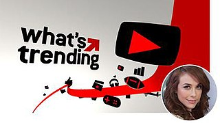 <i>Whats Trending</i> US television program