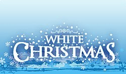 White Christmas at Warner Bros. Movie World logo