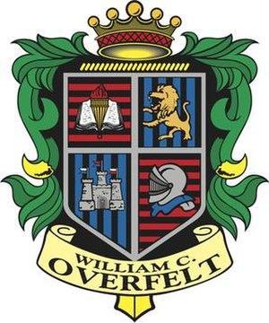 William C. Overfelt High School - Image: William C. Overfelt High School Logo