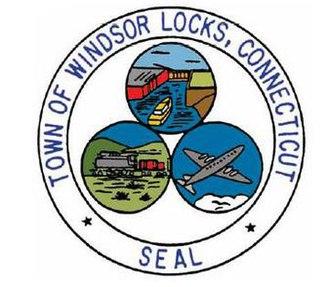 Windsor Locks, Connecticut - Image: Windsor Locks C Tseal