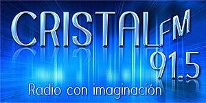 XHCRI-FM - Image: XHCRI cristal FM91.5 logo