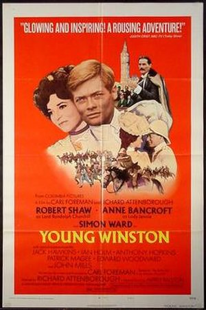 Young Winston - Theatrical release poster