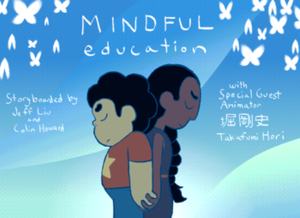 Mindful Education - Promotional art for the episode by storyboarder Jeff Liu