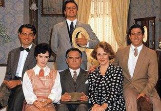 Éramos Seis (TV series) - Cast of Éramos Seis