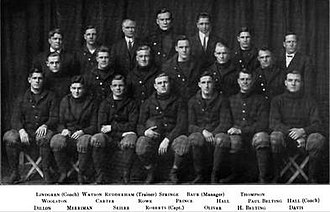 1911 Illinois Fighting Illini football team - Image: 1911 Illinois Fighting Illini football team