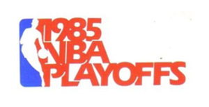 1985 NBA Playoffs - Image: 1985NBAPlayoffs