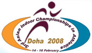 2008 Asian Indoor Athletics Championships - Image: 2008 Asian Indoor Athletics Championships logo