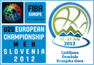2012 FIBA Europe Under-20 Championship - Image: 2012 FIBA Europe U 20 Men