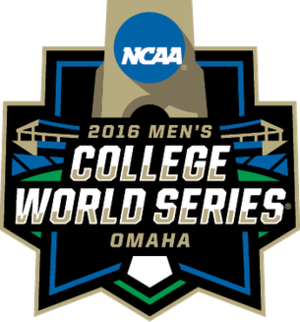 2016 NCAA Division I Baseball Tournament - Image: 2016collegeworldseri es