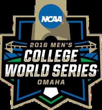 2016 NCAA Division I Baseball Tournament - Image: 2016collegeworldseri es