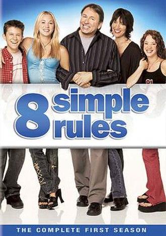 8 Simple Rules (season 1) - Region 1 DVD cover