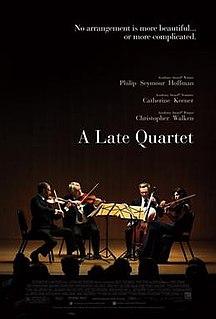 <i>A Late Quartet</i> 2012 film by Yaron Zilberman