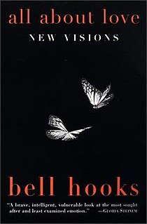 <i>All About Love: New Visions</i> book by Bell hooks