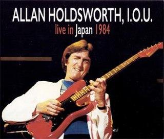 <i>Live in Japan 1984</i> 2018 album by Allan Holdsworth
